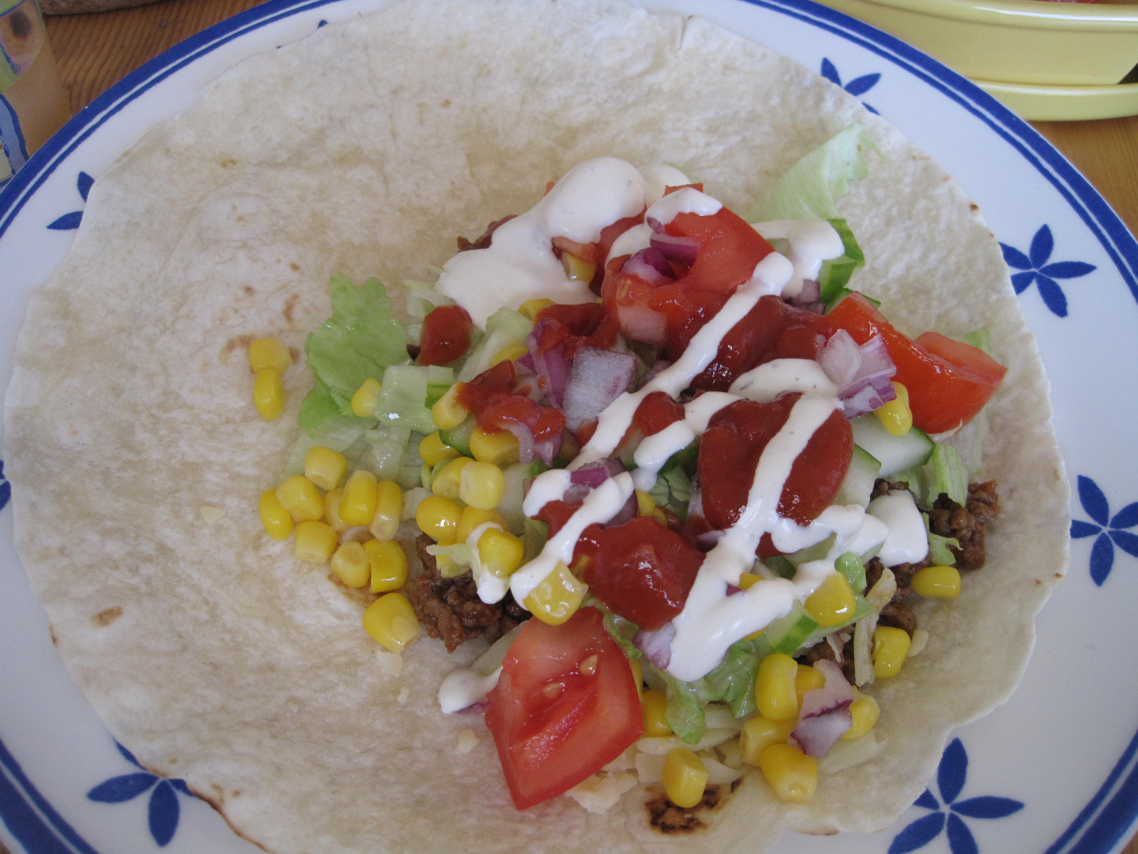 tacos mjukt bröd