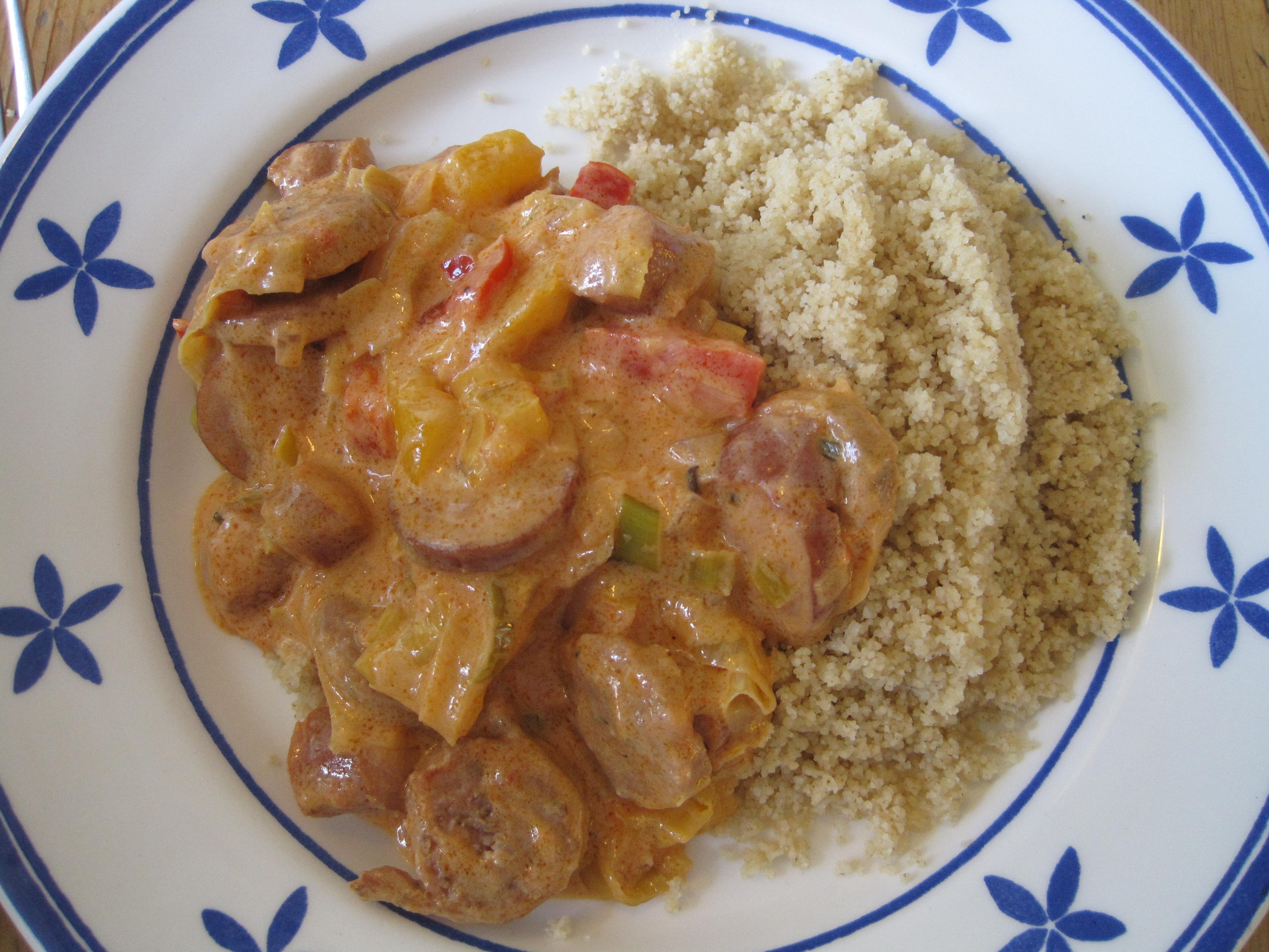 gryta med ris