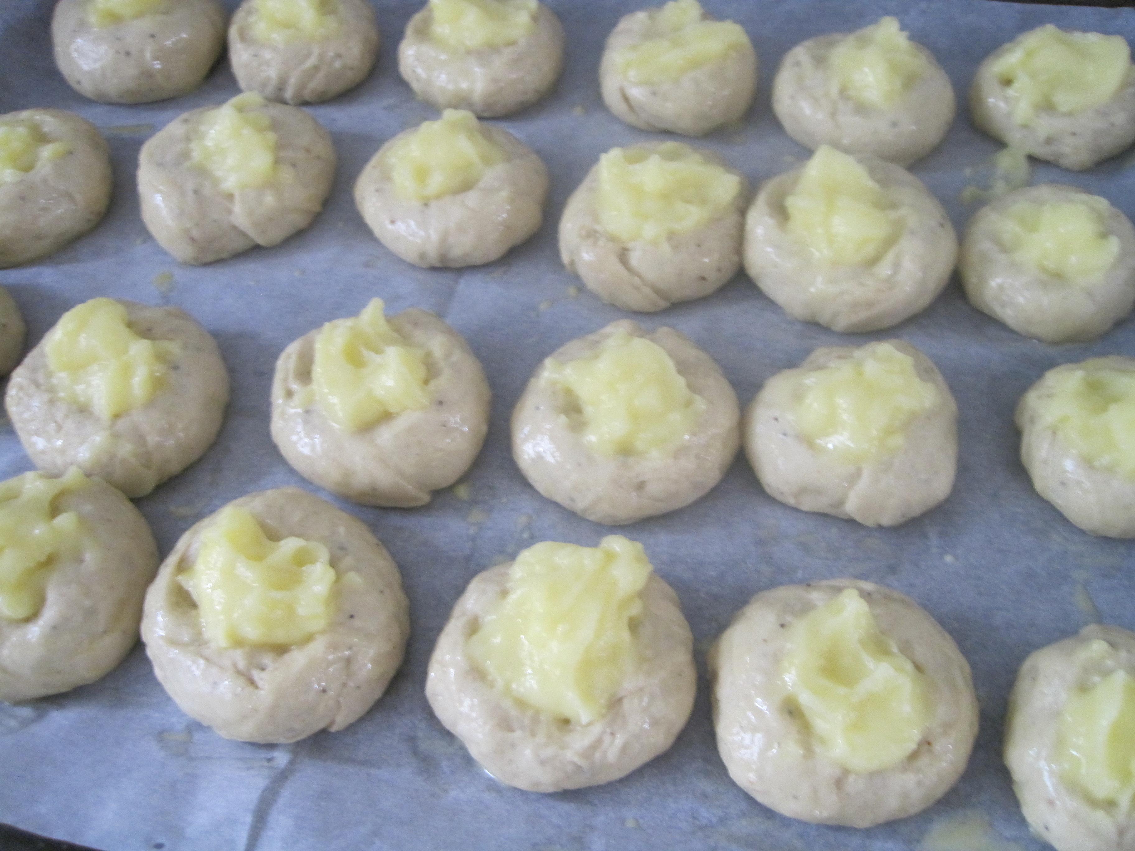vaniljbullar med vaniljkräm recept